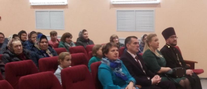 Месячник пожилых людей торжественно отметили в с.Баево Ардатовского района