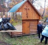 Молодежное движения «Милосердие» провело экологический десант у Иверского источника в п.Октябрьский Ардатовского района