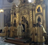 В Саранске прошло соборное богослужение в рамках научно-практической конференции «Теология в культурно-образовательном пространстве региона»