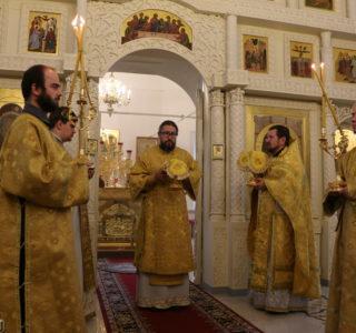 Божественная литургия накануне Лукинских образовательных чтений