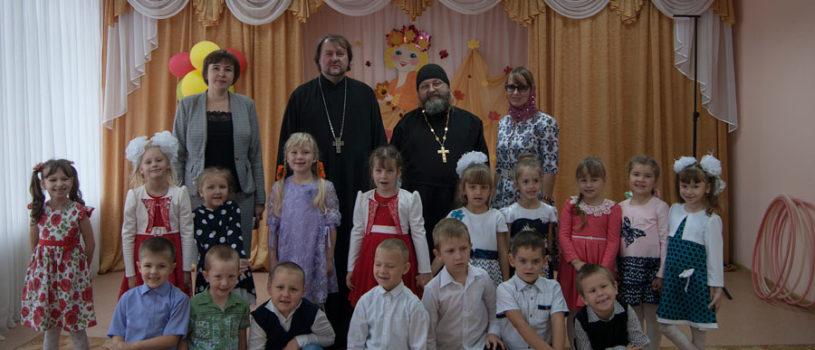 Духовное окормление воспитанников Большеигнатовского детского сада «Малыш»