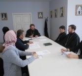 В епархиальном управлении Ардатовской епархии прошло заседание молодежного отдела