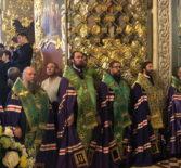 Малая Вечерня с чтением акафиста Игумену земли Русской преподобному Сергию Радонежскому