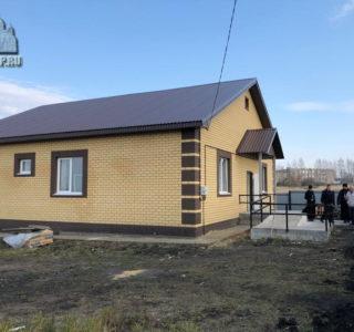 Архипастырь посетил новый дом для воина Сергея Мартьянова