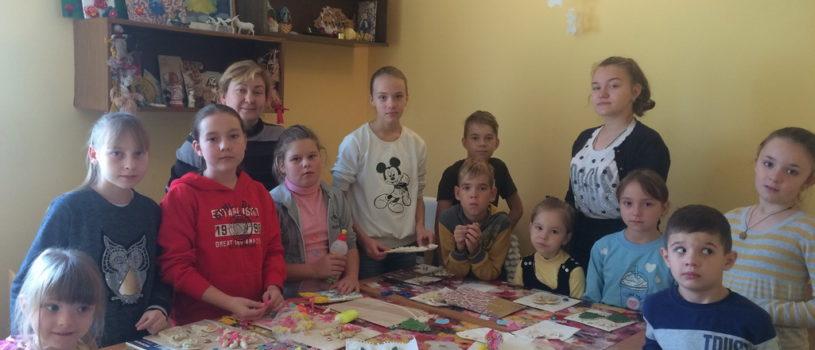 В воскресной школе храма Благовещения Пресвятой Богородицы п. Комсомольский Чамзинского благочиния начались занятия