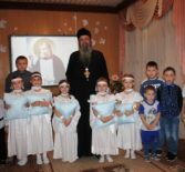 В д/с»Сказка» п.Комсомольский Чамзинского района в рамках семейного клуба «Возрождение» состоялась встреча со священнослужителем