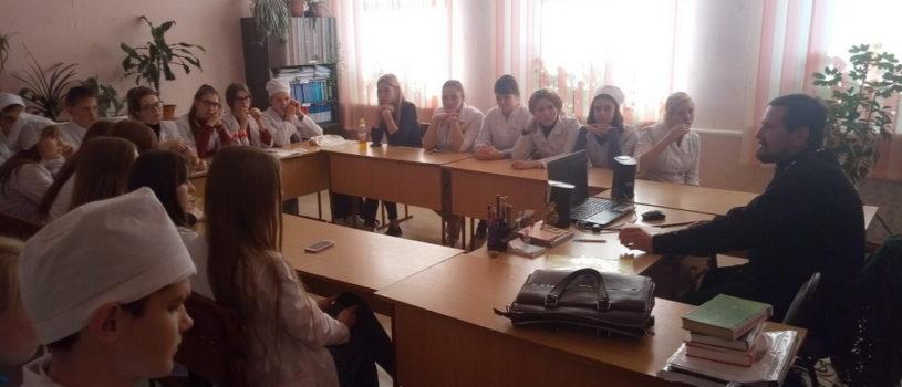 Миссионерское мероприятие в Ардатовском медицинском колледже