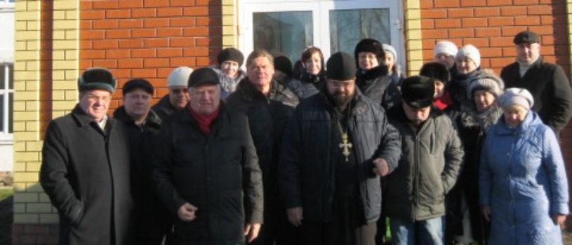 В Больших Березниках состоялось освящение часовни в честь Архистратига Божия Михаила