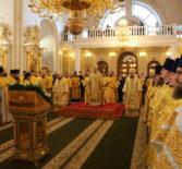 Архипастыри совершили Божественную Литургию в Федоровском кафедральном соборе в рамках V межрегионального образовательного форума «Пересвет»