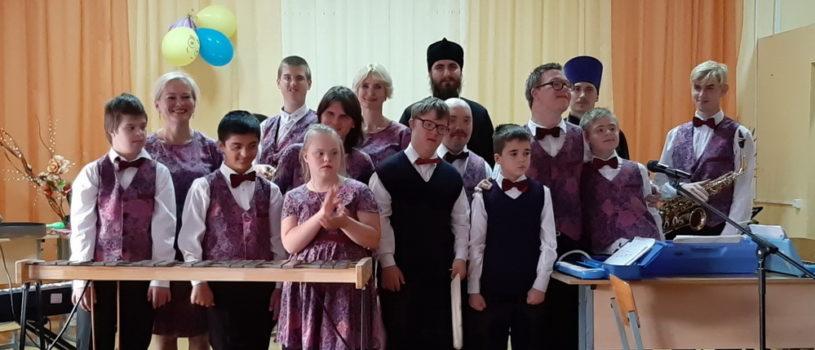 В Атяшево состоялся концерт музыкального коллектива «Солнечные нотки»