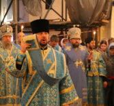 Накануне празднования Казанской иконы Божией Матери Архипастыри совершили Всенощное бдение в Казанском храме г.Саранска