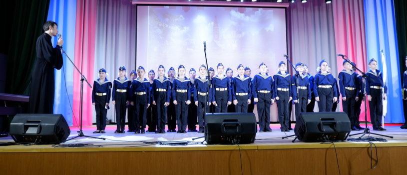 В Ардатове прошла торжественная церемония посвящения в морские кадеты