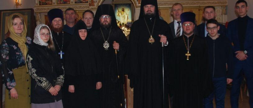 Архипастырь совершил визит в Альметьевскую епархию Татарстанской митрополии в рамках II Съезда православной молодежи епархий ПФО