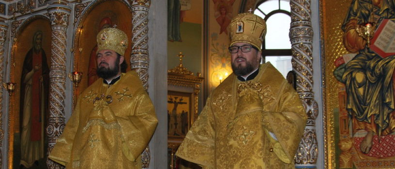 В Казанском кафедральном соборе г.Альметьевска прошло соборное богослужение в рамках молодежного съезда «Молодая осень»