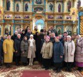 Архипастырь с группой паломников Ардатовской епархии посетил Пайгармский Параскево-Вознесенский женский монастырь