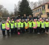 В п.Комсомольский Чамзинского района прошло профилактическое мероприятие «юный пешеход»