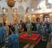 Празднование Казанской иконы Божией Матери в Федоровском кафедральном соборе г.Саранска
