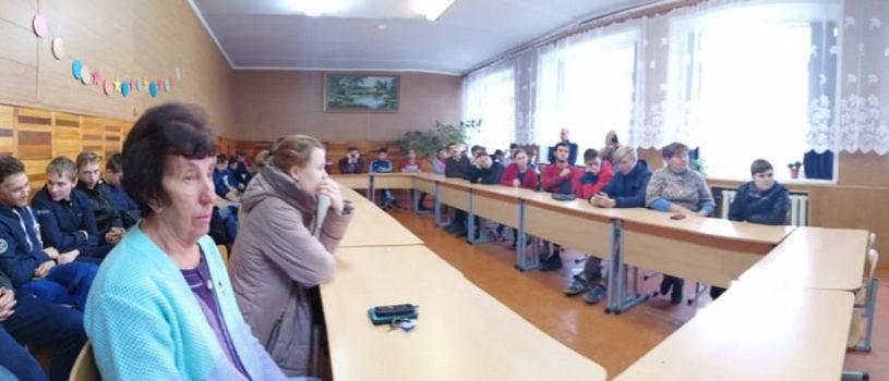 Лекция о смысле жизни в Атяшевском аграрном техникуме
