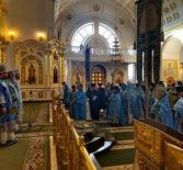 В рамках открытия регионального этапа XXVIII Международных Рождественских чтений в Феодоровском кафедральном соборе прошло соборное богослужение