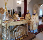 В Никольском кафедральном соборе г.Ардатова прошло соборное богослужение