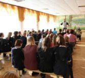 В актовом зале Апраксинской СОШ Чамзинского района прошла  лекция о святых угодниках Божиих
