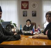 Рабочее совещание  в администрации Большеигнатовского района