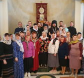 Второй день на Святой Земле. Архипастырь совместно с паломниками посетил Блаженнейшего Патриарха Святого града Иерусалима и Всея Палестины Феофила III