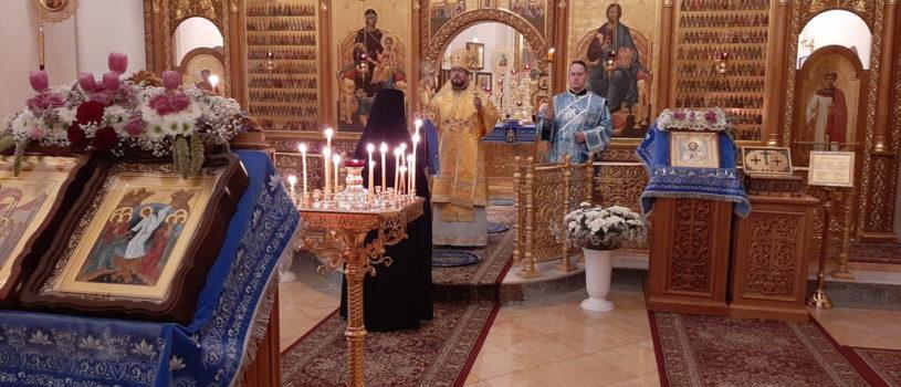 Всенощное бдение в Горненском женском монастыре Русской Духовной Миссии