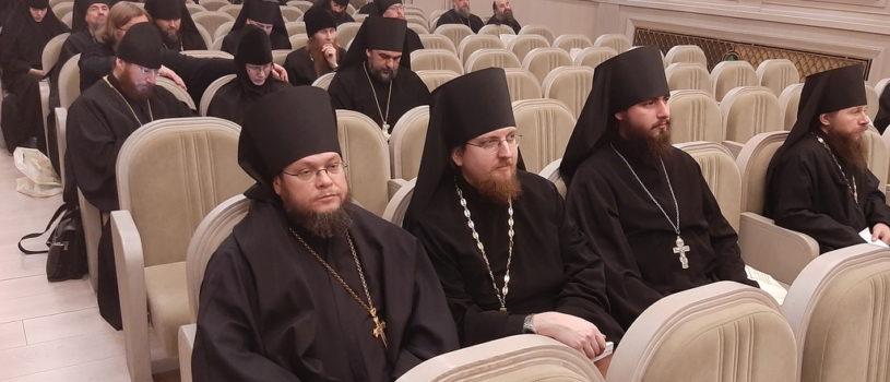Делегат Ардатовской епархии принял участие в итоговом годовом собрании монашествующих РПЦ