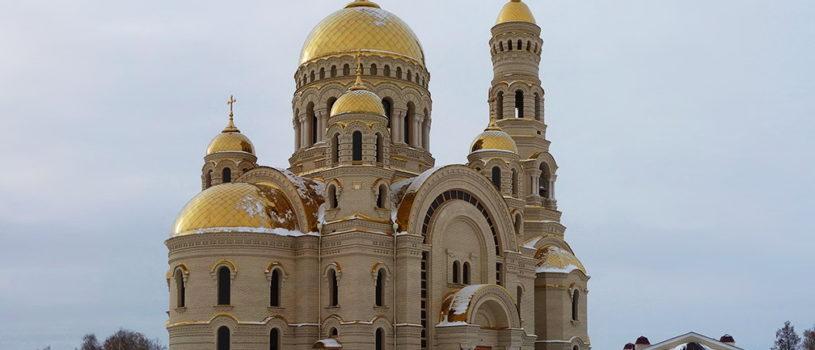 Архипастырь совершил Божественную литургию в храме Апостола Андрея Первозванного п.Атяшево