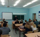 Руководитель епархиального отдела «Защита семьи, материнства и детства» посетил Большеигнатовскую СОШ
