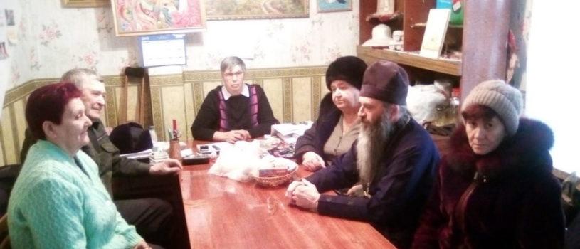 В Ардатовском обществе инвалидов состоялось рабочее совещание с участием Ардатовской епархии