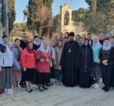 Третий день паломничества на Святой Земле начался с Божественной литургии в храме Успения Божией Матери в Гефсимании