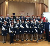 В Дубенской СОШ прошло торжественное посвящение в кадеты
