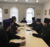 Архипастырь провел отчетное собрание благочинных всех церковных округов Ардатовской епархии
