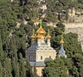 Архипастырь совершил Божественную литургия на Подворье Русской Духовной Миссии Марии Магдалины в г.Магдала