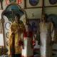 В Никольском приходе с.Отрадное Чамзинского района новопосвященный алтарник с большим благоговением несет свои послушания
