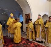 Память Апостола Андрея Первозванного, Архипастырь совершил Божественную литургию в Никольском кафедральном соборе г.Ардатова