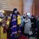 Архипастырь совершил благодарственное моление на Лукинском подворье г.Саранска о благополучном завершении паломничества на Святую Землю