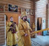 Архипастырь совершил Божественную литургию в храме Новомучеников и Исповедников Российских г.Ардатова
