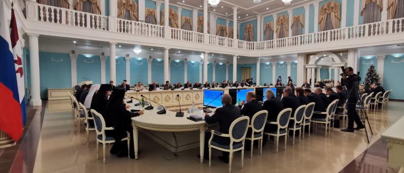 В Саранске прошло расширенное заседание Общественного Совета Мордовской митрополии