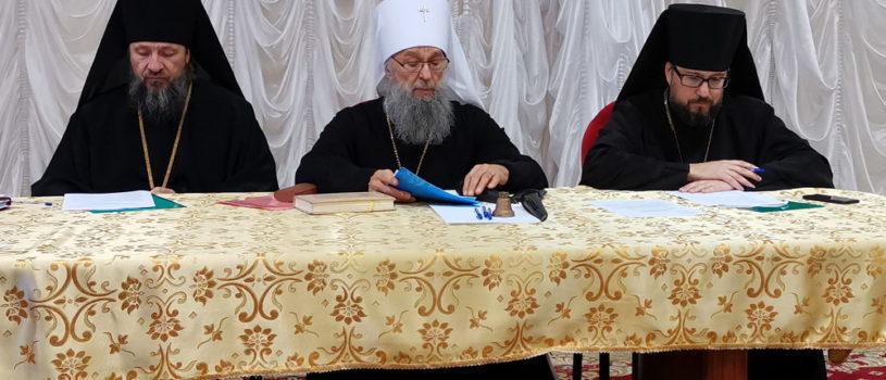 В Саранске состоялось итоговое заседание архиерейского Совета Мордовской митрополии в расширенном составе