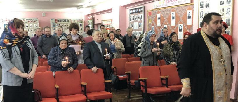 В Дубенское краеведческом музее им. Воронина прошёл день скорби по войнам погибшим в локальных войнах