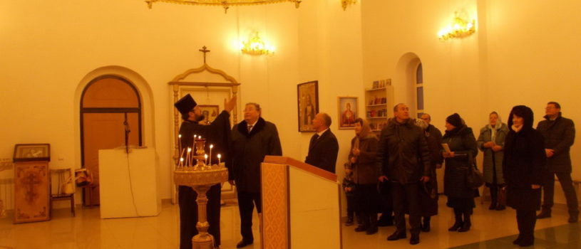 Большие Березники посетил Глава Республики Мордовия В.Д. Волков