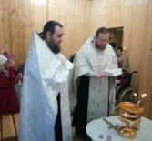 В Большеберезниковском доме-интернате для престарелых и инвалидов прошло Крещенское богослужение