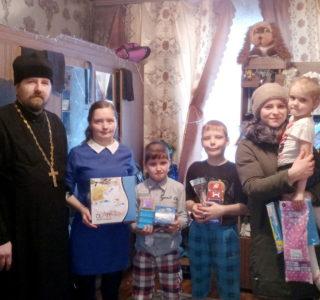 Рождественская благотворительная акция для малоимущих семей г.Ардатова