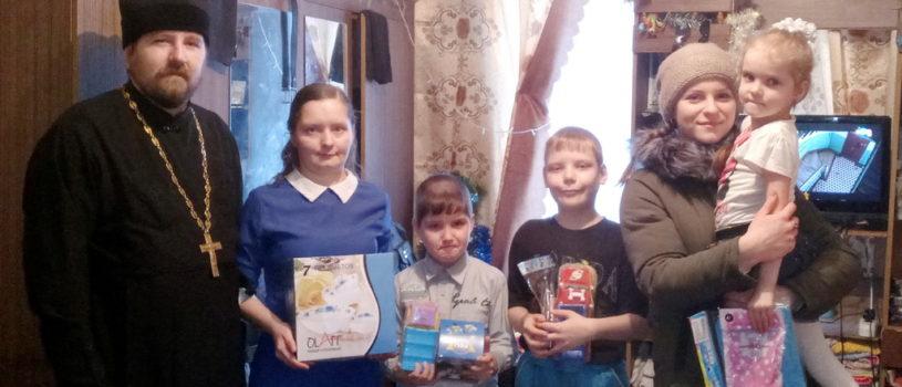 Волонтеры молодежного движения «Милосердие» провели Рождественскую благотворительную акцию