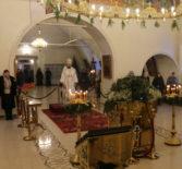 Навечерие Рождества Христова (Рождественский Сочельник) в Никольском кафедральном соборе г.Ардатова