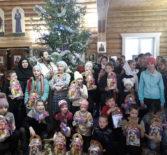 В Храме иконы Божией Матери «Отрада и Утешение» с.Шейн-Майдана прошли Рождественские встречи