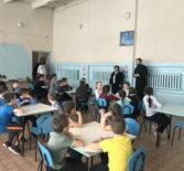 В детском саду и обще-образовательной школе с.Чукалы прошли праздничные встречи со священнослужителем